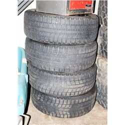 LOT OF 4 TOYO GS1-5 TIRES 205/55R16 94T WINTER
