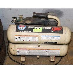 INGERSOLL RAND 90PSI 4.5 GALLON COMPRESSOR.