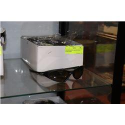 BOX OF BLACK OAKLEY STYLE SUNGLASSES