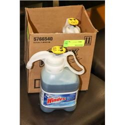 CASE WITH TWO 1.4L BOTTLES CONCENTRATED WINDEX