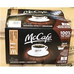 MCCAFE MEDIUM DARK ROAST COFFEE 72 SINGLE SERVE