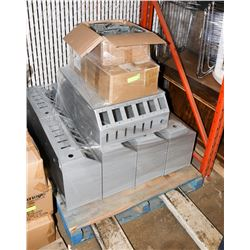 PALLET WITH ELECTRICAL & OUTLET BOXES.