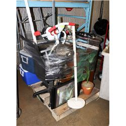 PALLET OF UNCLAIMED MERCHANDISE
