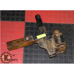 """HEAVY DUTY 2"""" HITCH WITH 2"""" BALL"""