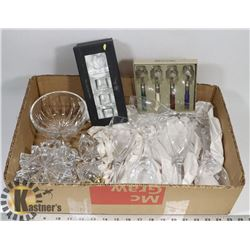 LOT OF ASSORTED CRYSTAL INCL