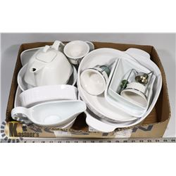 LOT OF CORNING WARE/CORRELLE INCL