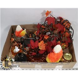 BOX OF SPOOKY THEMED PARTYLITE INCL