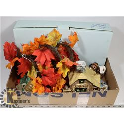 BOX OF AUTUMN THEMED PARTYLITE INCL