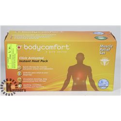 NEW BODY COMFORT MUSCLE RELIEF SET W/ NECK &