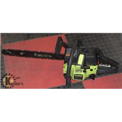 "POULAN 2250 CC 18"" CHAINSAW NEEDS TUNE"