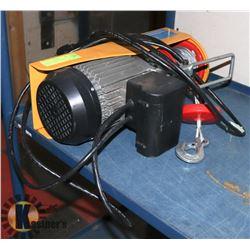 POWERFIST 880LB ELECTRIC CABLE HOIST