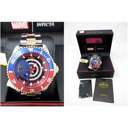 New in Box Men's Invicta Captain America Watch