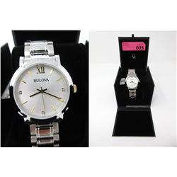 New in Box Men's Bulova 2-Tone Diamond Watch