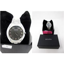 New in Box Ladies Bulova 11-Diamond Watch