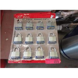 Set  of 12 New Security Locks