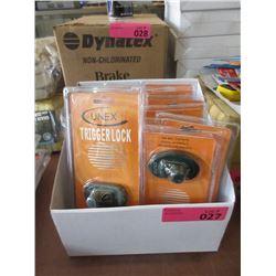 Case of 12 New Unex Trigger Locks