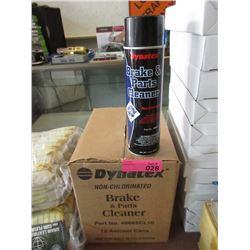 Case of Dynatex Aerosol Brake & Parts Cleaner
