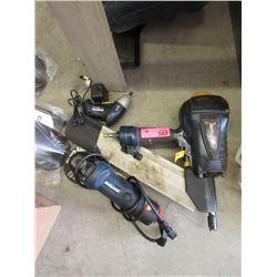 Air Spike Gun, Grinder & Drill