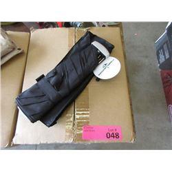 Case of 12 Black Folding Umbrellas