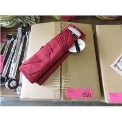 Case of 12 Red Folding Umbrellas