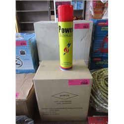 Case of 12 Universal Butane Gas Lighter Refill