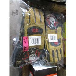 12 Pairs New Medium Size Welding Gloves