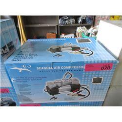 New Seagull 12 volt 140psi Air Compressor