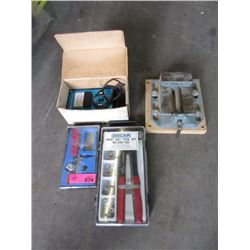Tachometer, Drill Press Vice, Air Brush & More