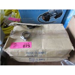 """2 Boxes of 1 -1/16"""" Hose Clamps"""