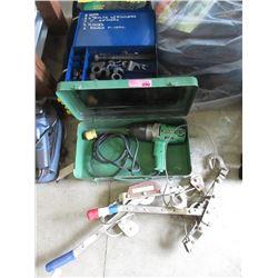 2 Come Alongs, Strut Spring Compressor Kit & More