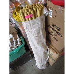 46 Push-In Broom/Mop Handles