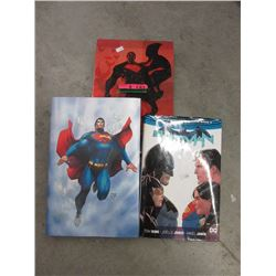 Superman &  Batman Collectable Hardcover Books