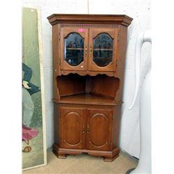 2 Piece Corner Cabinet
