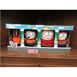 1998 Comedy Central South Park Plush Toy Set