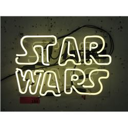"New Electric Neon ""Star Wars"" Sign"