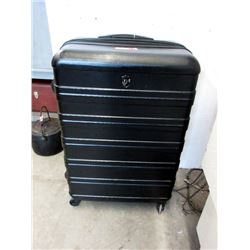 Large Heys Expandable Rolling Suitcase