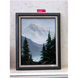 "Original Oil Painting - 15 x 19"" Framed"
