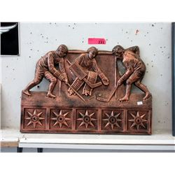 Hockey Themed Coat Rack