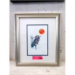 Richard Shorty Framed Print - Rest and Reap