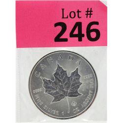 1Oz 2014 Canada .9999 Silver Maple LeafCoin