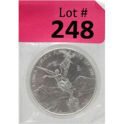 1 OzMexican Libertad .999 Silver Round