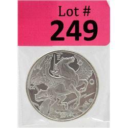 1 Oz Pegasus Freedom .999 Silver Round