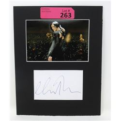 Authentic Autograph with Photo - Charlize Theron