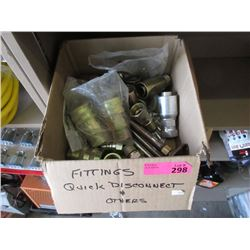 Quick Disconnect and Other Fittings - Box Lot