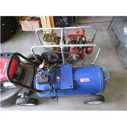 1 Electric and 1 Gas Compressor