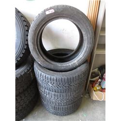 4 Kumho 255/50 R19 Studless Snow Tires