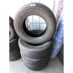 4 Genuine Grabber 265/65 R17 M&S Tires