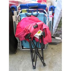 4 Assorted Folding Chairs - Store Returns