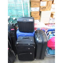 4 Pieces of Assorted Rolling Luggage