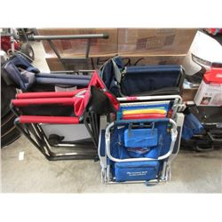 6 Assorted Camp Chairs - Store Returns